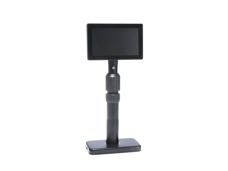 Small Display Metal Pole Stand
